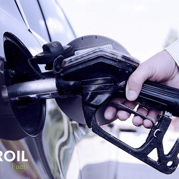 Αντλία βενζίνης τοποθετημένη σε αυτοκίνητο